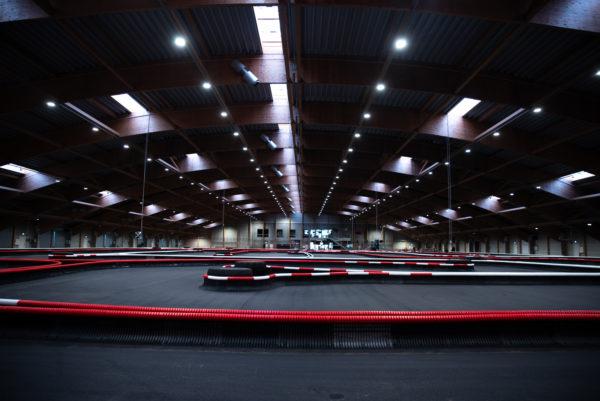Racehall - Verdens største indendørs gokartbaner